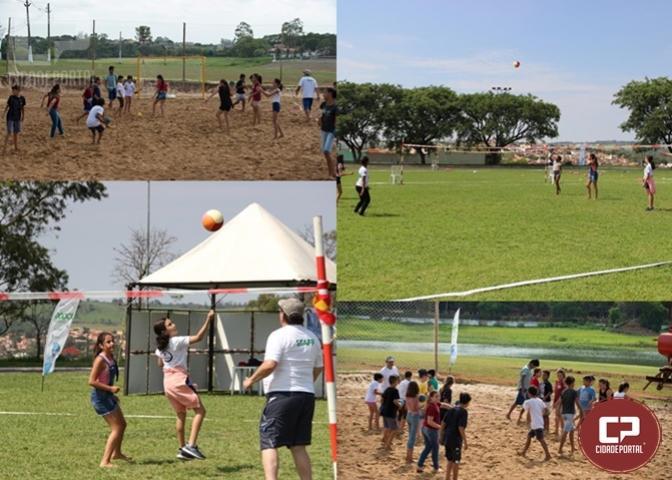 JANS incrementa handbeach e punhobol nas clínicas esportivas em Angra Doce