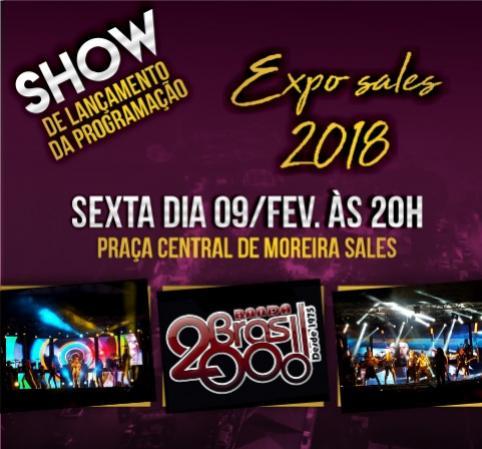 Lançamento oficial da Expo Sales 2018 é nesta sexta-feira