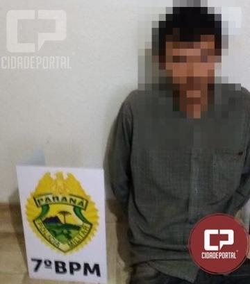 Uma pessoa foi presa após furtar e usar cartão de supermercado em Moreira Sales