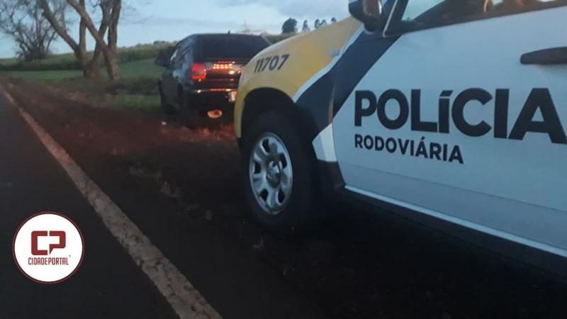 Polícia Rodoviária Estadual de Ubiratã recupera veículo furtado em Campo Mourão
