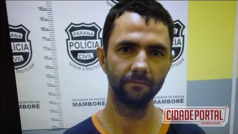 Após fuga em Nova Aurora de troca de tiro com Policiais, suspeito foi preso em Mamborê pela Polícia Militar