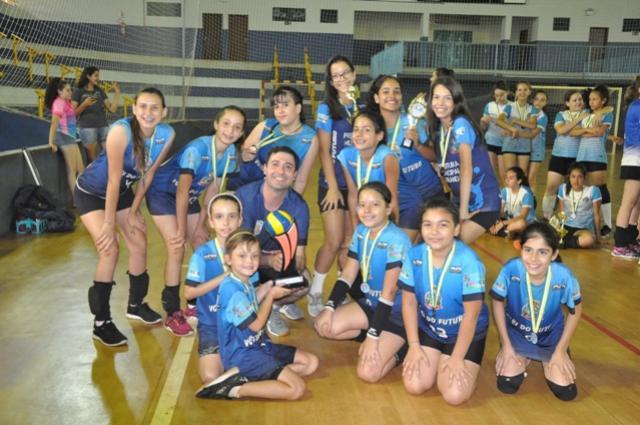 Com quatro etapas conquistadas, voleibol de Juranda garante título da Copa Talentos em Ação