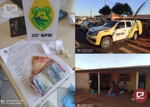 25º BPM realiza operação de cumprimento a 4 mandados de busca e apreensão em Douradina