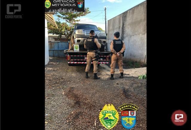 BPFron recupera em Guaíra veículo que foi roubado em Marechal Cândido Rondon
