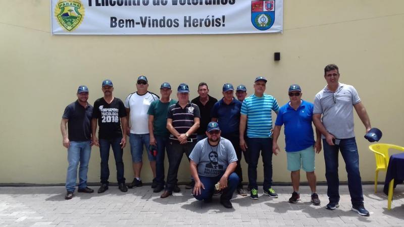 Policiais da reserva do 25º BPM participam do I Encontro de Veteranos em 3° CRPM