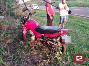 Motociclista morre ao bater contra árvore em Umuarama na madrugada deste domingo, 01