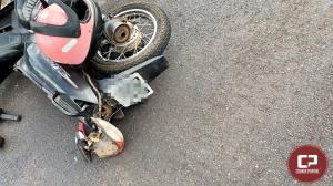 Motociclista fica gravemente ferido após acidente na PR-323 em Umuarama