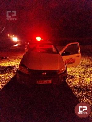 Grave acidente deixa uma pessoa ferida na madrugada desse domingo em Umuarama