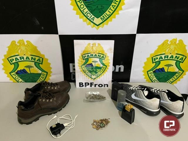 BPFron recupera objetos furtados em ação da Operação Hórus na cidade de Guaíra