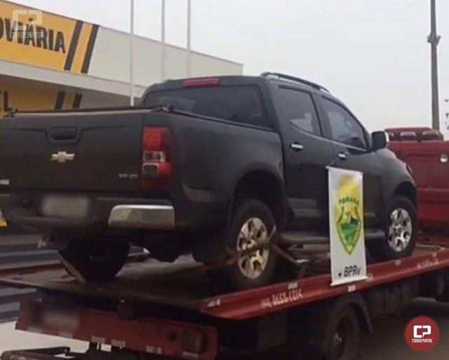 Posto Policial Rodoviário Estadual de Iporã recupera veículo com alerta de furto