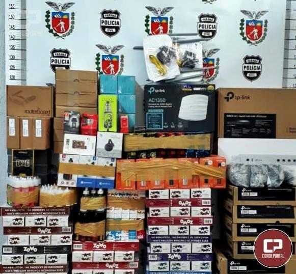 Polícia Civil apreende produtos oriundos de descaminho em Iporã - PR