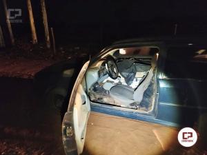 Polícia Ambiental de Umuarama apreende veículo com caixas de cigarros contrabandeados