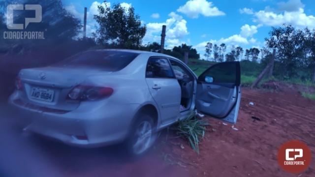 Residência foi alvo de roubo em Umuarama nesta sexta-feira, 29
