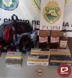 Policiais Militares do 3ª CIPM apreendem adolescente por ato infracional em Querência do Norte