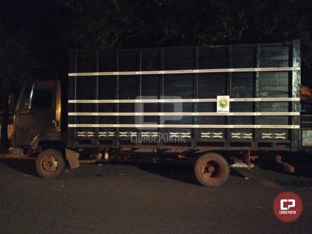 Durante Operação Hórus, BPFron recupera em Altônia veículo furtado na cidade de Rondon