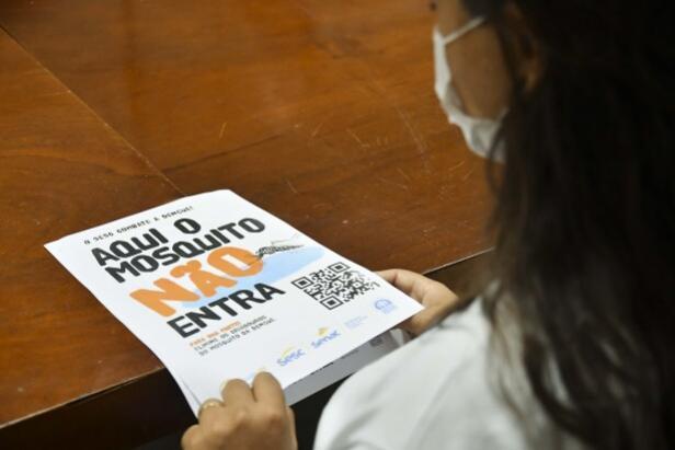 Campanha do Sesc reforça ações de combate à dengue em Umuarama