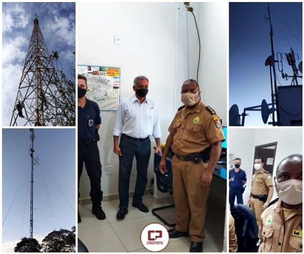 Polícia Militar do 25º BPM em Umuarama passa a operar com sistema de comunicação digital