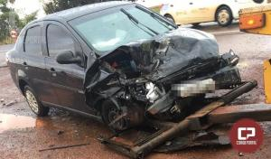 Uma pessoa perde a vida em acidente automobilístico na BR-369 entre Juranda e Ubiratã