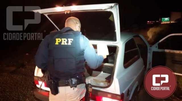Polícia Rodoviária Federal apreende 82 kg de maconha em Alto Paraíso - PR