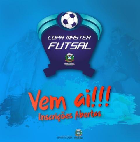 Secretaria de Esporte de Umuarama lança copa de  futsal para atletas acima de 35 anos