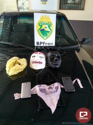 BPFron desmobiliza ação de quadrilha em Guaíra e recupera veículo roubado
