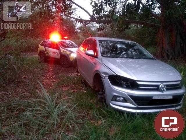 Veículo roubado em Cambira foi encontrado e recuperado em Marilena
