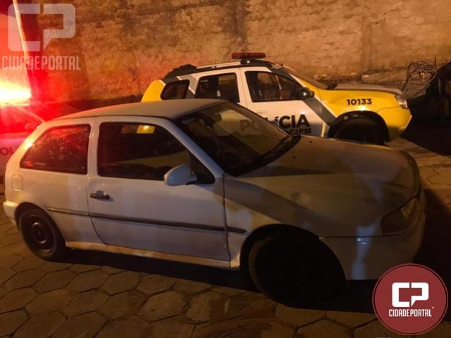 Veículo foi apreendido e condutor é notificado por infrações de trânsito em Itaúna do Sul