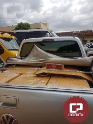 Equipes RPA apreendem duas caminhonetes utilizadas para o contrabando em Umuarama