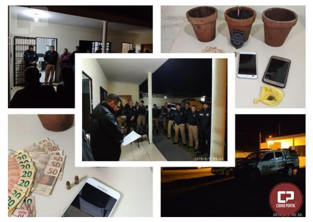 Operação Policial prende autor de homicídio na cidade de Douradina