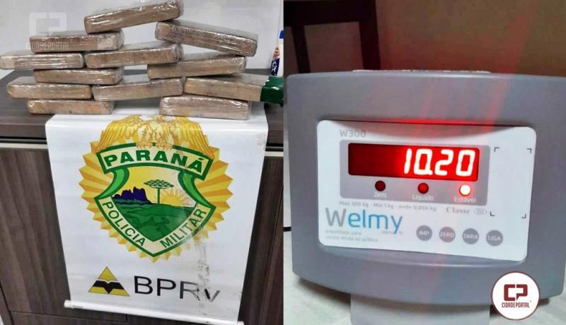 Polícia Rodoviária Estadual de Floresta apreende drogas durante fiscalização de rotina