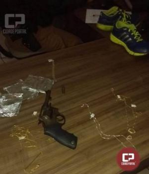 Polícia Militar de Umuarama prende autores de roubo em joalheria