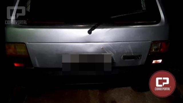 ROCAM apreende veículo adulterado e seu condutor por adulteração de sinal identificador de veículo em Umuarama