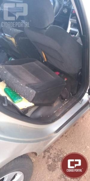 Polícia Rodoviária Estadual de Iporã apreende drogas, arma e prende duas pessoas