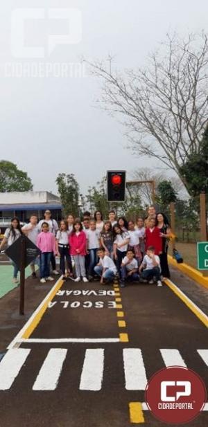 Escola de trânsito infanto juvenil do 7º BPM atende 223 crianças em 3 meses
