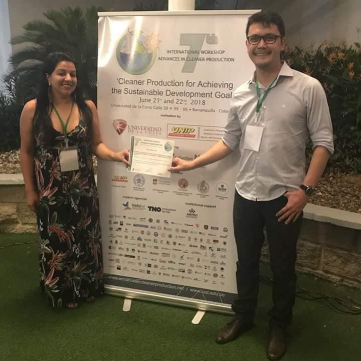 Mestranda do IFPR/UEM tem trabalho premiado em Congresso Internacional na Colômbia