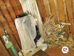 Polícia Civil de Altônia apreende mais de uma tonelada de maconha em Sítio Macabro