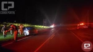 Veículo roubado foi recuperado pela Polícia Militar em Umuarama