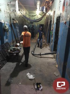 Reforma da rede de esgoto da cadeia de Umuarama