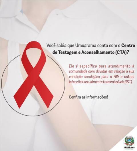 CTA de Umuarama atende toda comunidade sobre HIV e outras infecções sexualmente transmissíveis