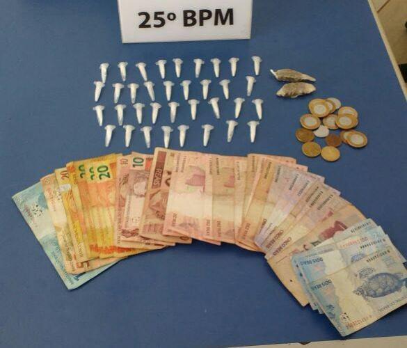 Equipe RPA de Umuarama apreende menor por tráfico de drogas