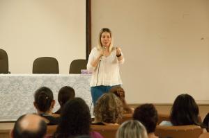 Palestra destaca Lei Maria da Penha  no combate à violência contra mulher