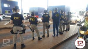 Polícia Rodoviária Federal homenageia às mulheres pelo Dia Internacional da Mulher