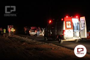 Grave acidente entre Goioerê e Quarto Centenário deixa uma pessoa com ferimentos graves