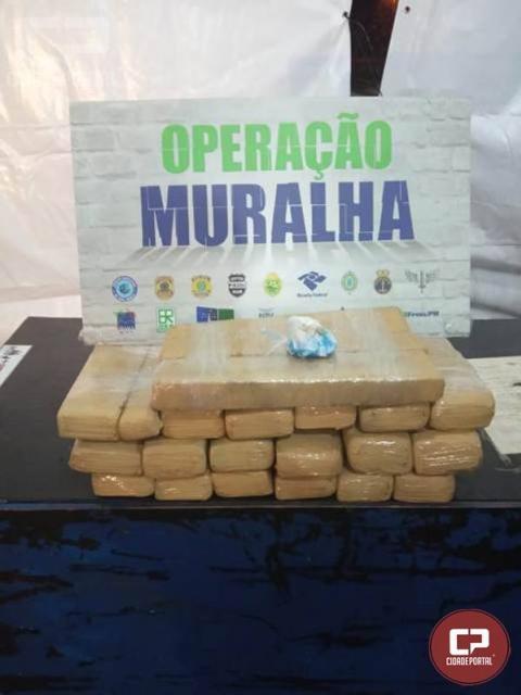BPFron prende traficantes que contrabandeavam entorpecentes para Porto Alegre/PR