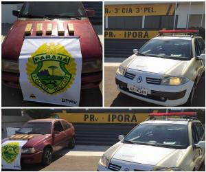 Duas pessoas foram presas pela PRE de Iporã por tráfico de drogas nesta sexta-feira, 07