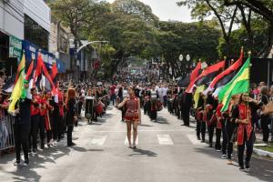 Fanfarra de Umuarama conquista título regional com apenas três meses de atuação