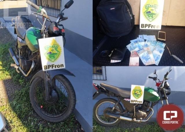 Policiais Militares recuperam moto furtada