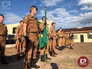 Solenidade marca o aniversário de cinco anos do 25º Batalhão da Polícia Militar de Umuarama