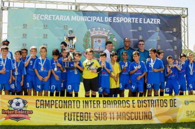 Inscrições abertas ao Interbairros de Futebol Sub-11 Masculino em Umuarama