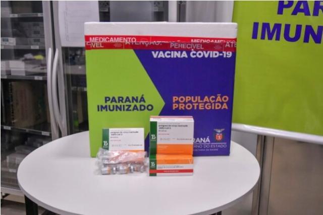 Umuarama recebe lote de vacinas para imunizar idosos acima de 90 anos